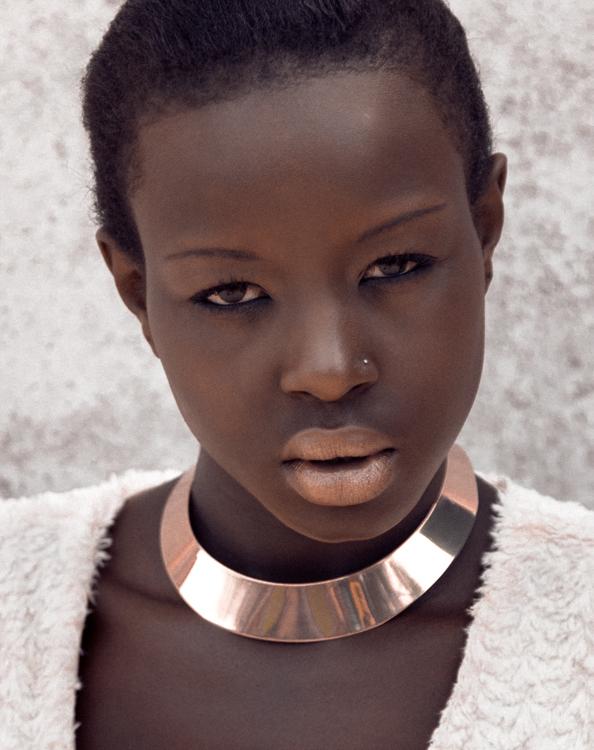 Top 20 african models - Ebony Hair..