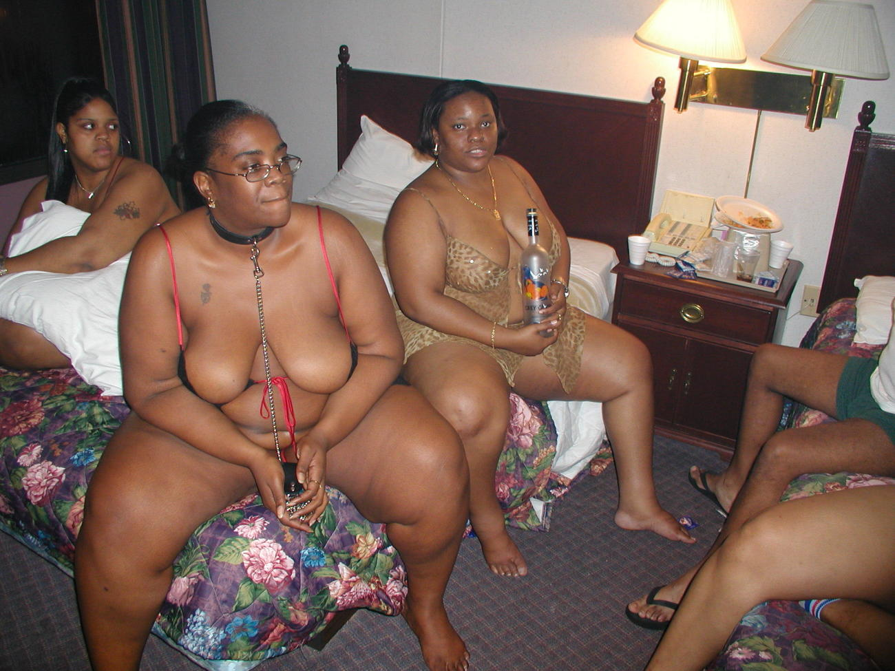 Ginormous ebony girls swingers bang-out