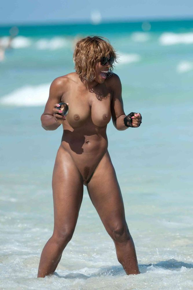 Serena Williams Bare Nude Bollingerpr..