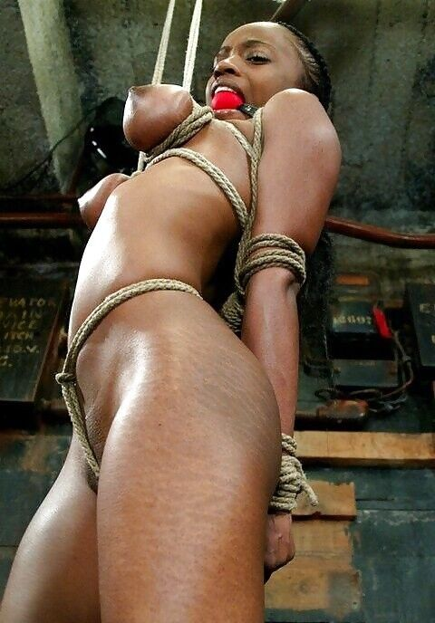 Restrain bondage Sluts: Ebony Bunnies..