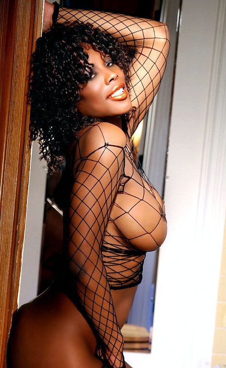 She is a stellar dark-hued model in..