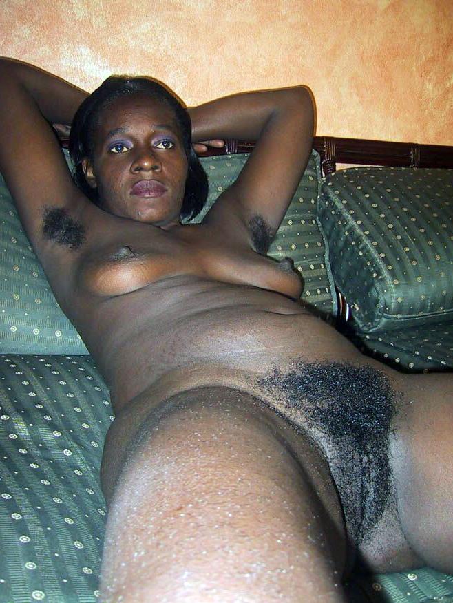 Some nude dark-hued bombshells give us..