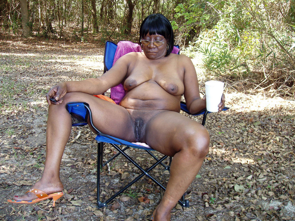 Bare ebony exhibitionists and swingers..