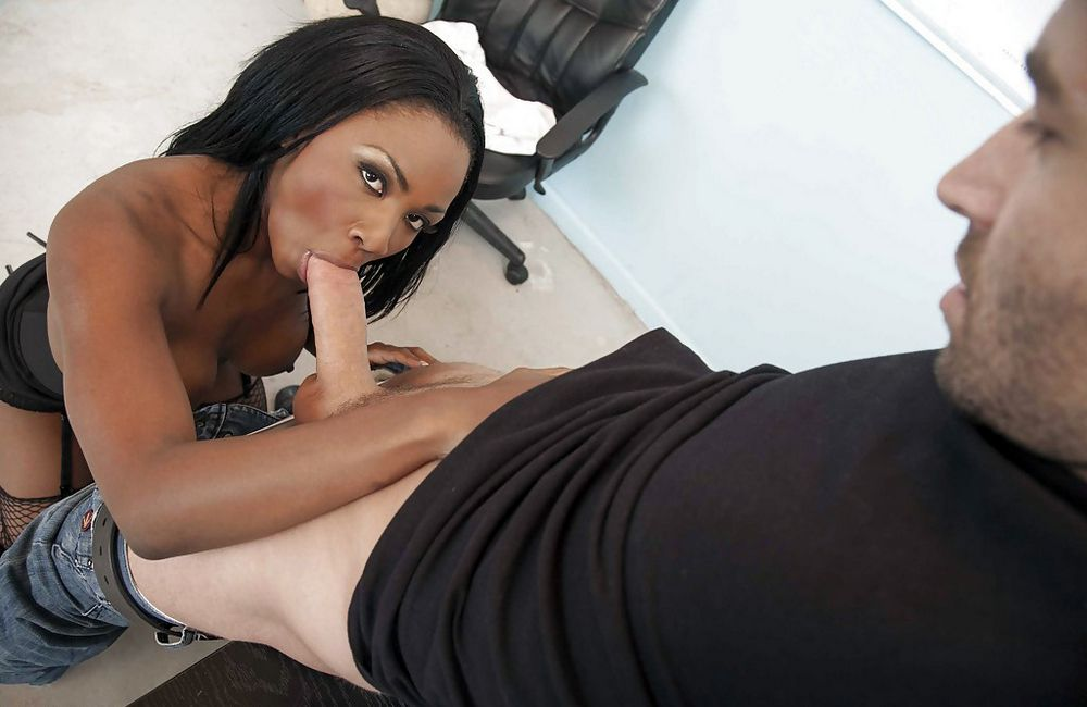 Red-hot  ebony breezies attempt to..